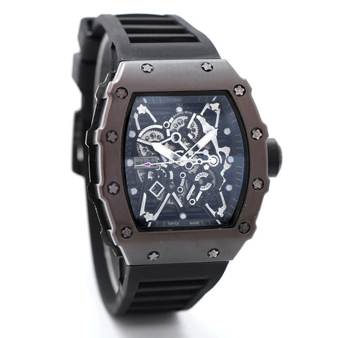Richard Mille Rafael Nadal Automatic Men's Watch RM35-02  Black color Wrist watch for men