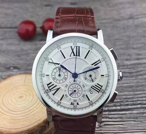 Luxury Branded Wrist Watch for Men Japan Quartz Movement
