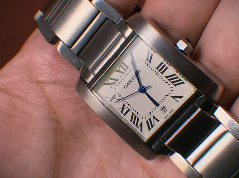 Cartier wrist watch for men women