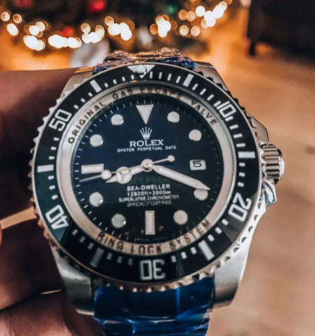 Rolex DeepSea Sea-Dweller high end watch