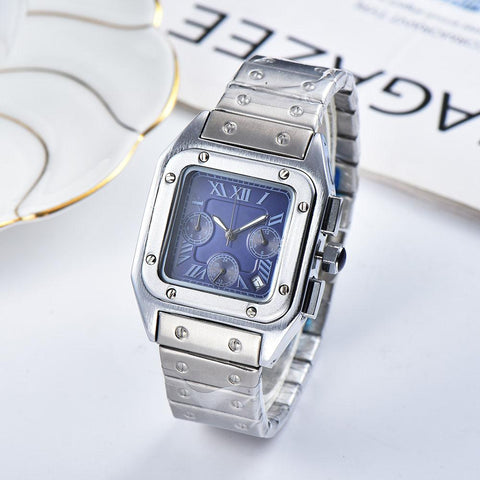 wrist watch for women blue dial