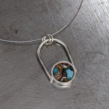 Load image into Gallery viewer, Arc Necklace Stefany Marie Glass