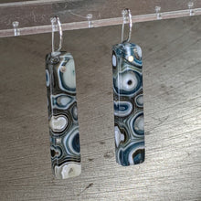 Load image into Gallery viewer, Slate Cream Murrini Earrings