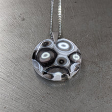 Load image into Gallery viewer, Black White Pendant Necklace