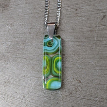 Load image into Gallery viewer, Lemongrass Turquoise Pendant Necklace