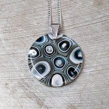 Load image into Gallery viewer, Slate Vanilla Pendant Necklace