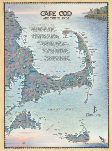 Cape Cod And Islands Waterways Puzzle