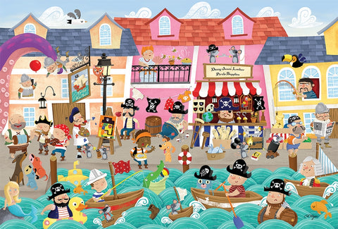 Pirate Life Kids Tray Puzzle