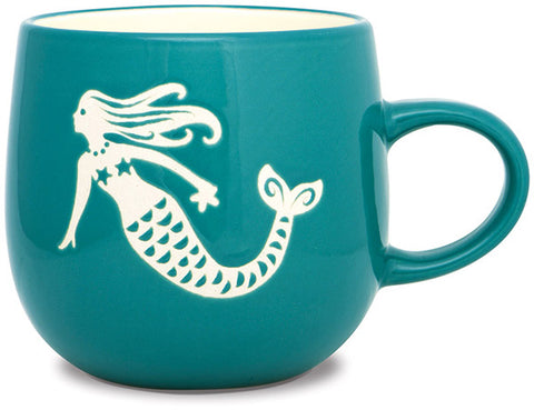 Mermaid Batik Mug