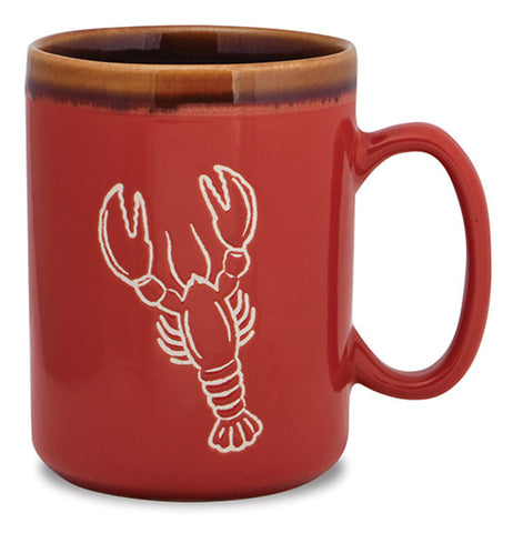 Lobster Hand Glazed Mug