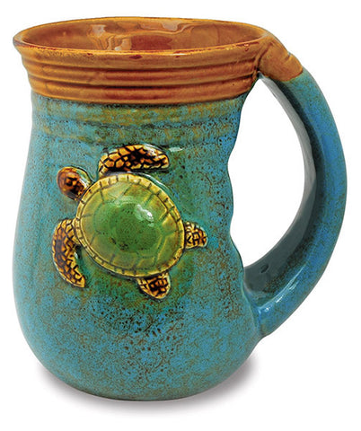 Sea Turtle Handwarmer Mug