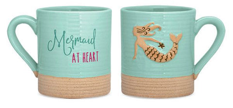 Mermaid at Heart Sandy Mug