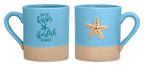 Salty Kisses and Starfish Wishes Sandy Mug