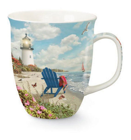 Rays of Hope Lighthouse Mug