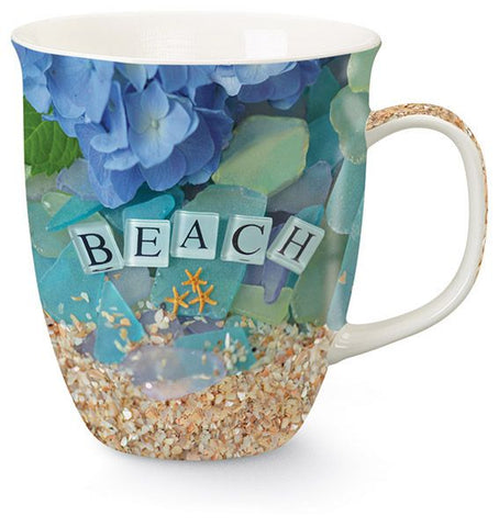 Beach Sea Glass Mug