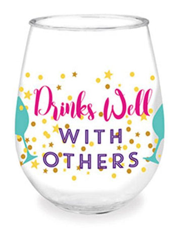 Drinks Well With Others Wine Tumbler