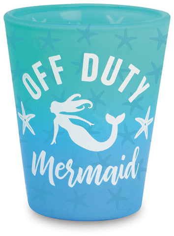 Off Duty Mermaid Shot Glass
