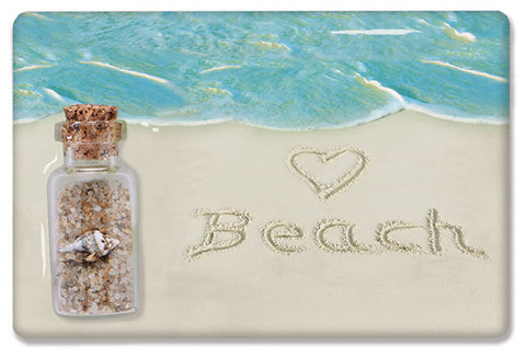 Heart Beach Sand Magnet