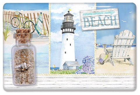 Coastal Collage Sand Magnet