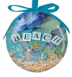 Beach Sea Glass Ornament
