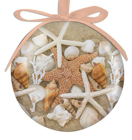 Starfish and Seashells Ornament