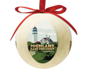Highland Light Ornament