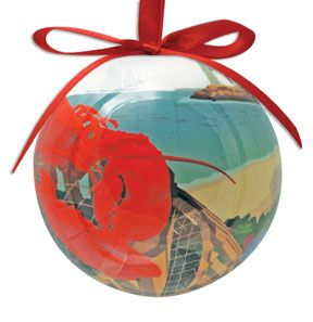 Lobster Harbor Ornament