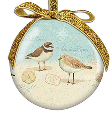Sand Piper Ornament