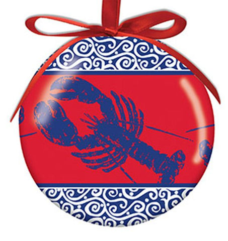 Coastal Color Lobster Ornament