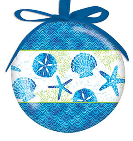 Beach Batik Ornament