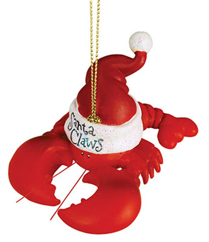Santa Claws Lobster Ornament
