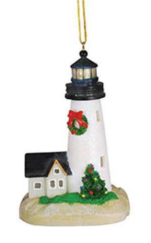 Light Up Lighthouse Ornament