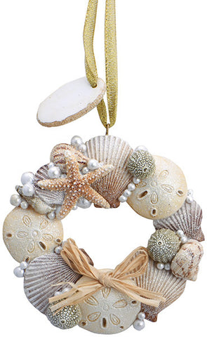 Sea Shell Wreath Ornament