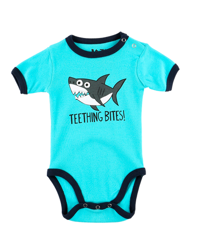 Teething Bites Onesie