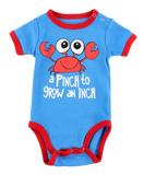 A Pinch to Grow an Inch Crab Onesie