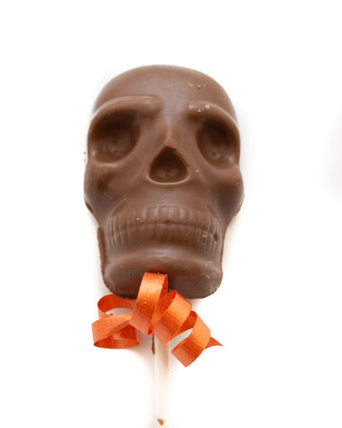 Skull Chocolate Lollipop