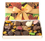 Homemade Fall Chocolate Box