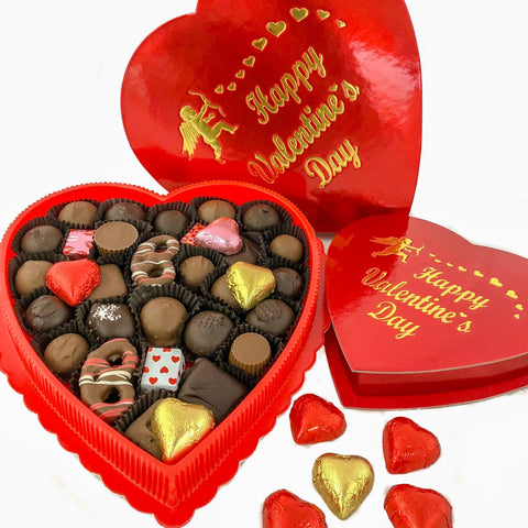 Happy Valentine's Day Chocolate Box