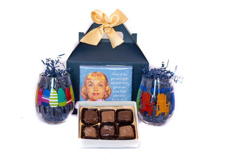 Wine and Chocolate Gift Box
