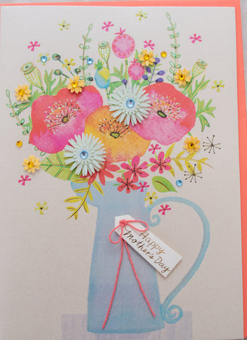 Flower Vase Mother's Day Card