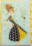 Queen Bee Mother's Day Card