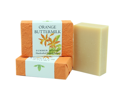 Orange Buttermilk Soap