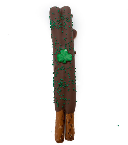 Saint Patricks Day Pretzel Rods