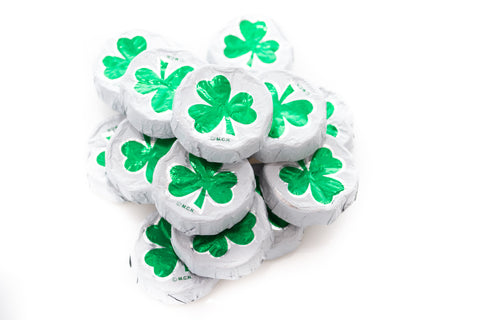 Chocolate Shamrock Clovers