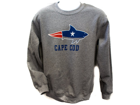 Cape Cod Shark Sweat Shirt