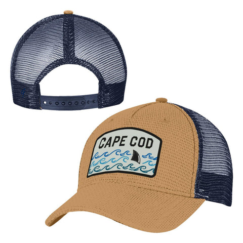 Cape Cod Shark Trucker Hat