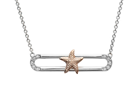 Starfish Necklace on Slider
