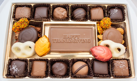 Happy Thanksgiving Chocolate Box