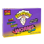 Warheads Worms Movie Theater Box
