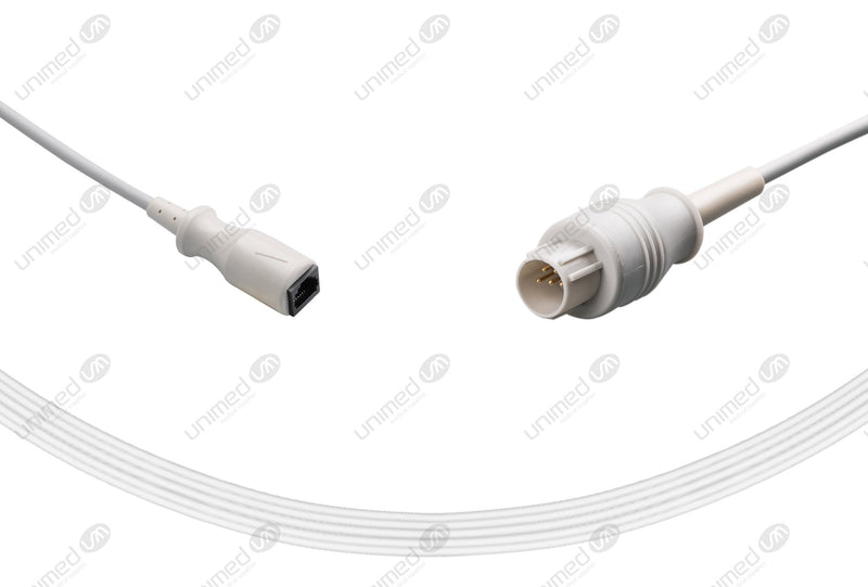 Nihon Kohden Compatible IBP Adapter Cable Medex Abbott Connector